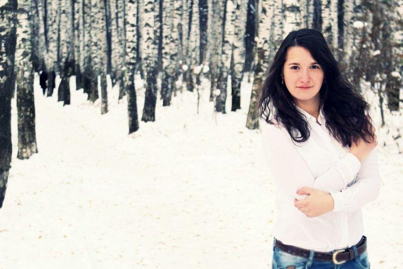 Очень холодно на зимней Enjoying Life Relaxing First Eyeem Photo