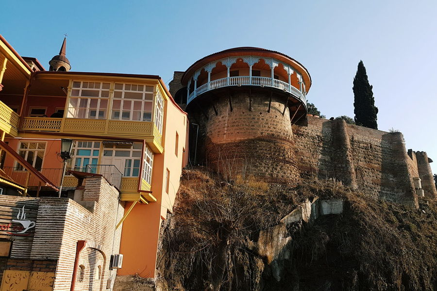 The City Light City Architecture Panoramic Travel Travel Destinations Low Angle View Outdoors No People Night Illuminated Close-up Sky Castle View  Castle Ruin Castle Walls Castle Tower Tbilisi Tbilisi Georgia Georgia Tbilisi EyeEm Diversity Neighborhood Map
