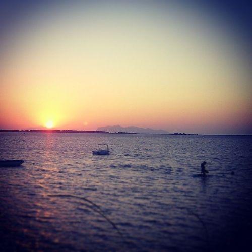 Italy Sicily Marsala Sunset Landscape Sea Favignana Stagnone Amazingland Siciliabeddra