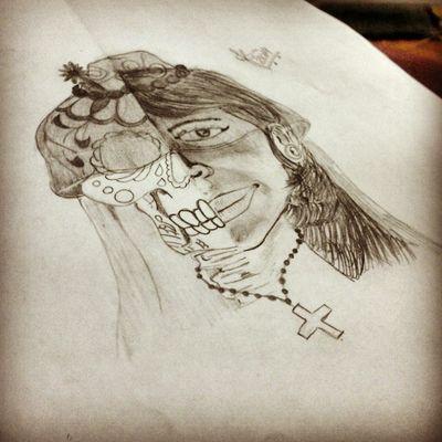 Arte Tattoo Caveiras