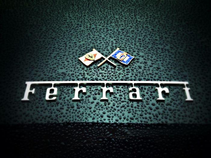 Badge Ferrari Pininfarina 250GT