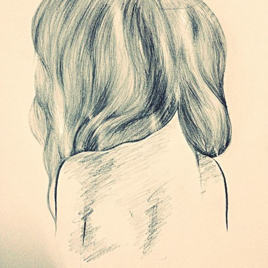 Drawing LCAbby Beauty Or The Beast Long Hair