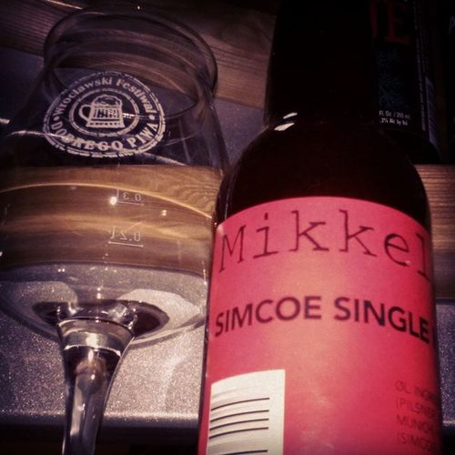 Simcoe Single Hop, @mikkellerbeer Mikkellerbar Mikkeller Mikeller_friends Beer piwo bier birra cervesa cerveja cerveza øl öl риво hop hophead homebrewing craftbeer microbrewery instabeer beerporn beertasting