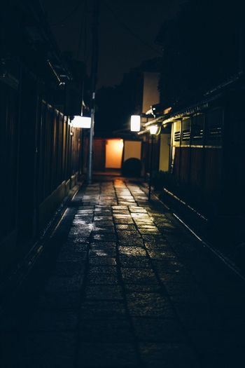 kyoto EyeEmNewHere EyeEm Best Shots The Week on EyeEm Vscocam VSCO Canon Zeiss Planar50/1.4 Carl Zeiss CarlZeiss Japan Kyoto Illuminated Night Architecture Built Structure The Way Forward No People Outdoors