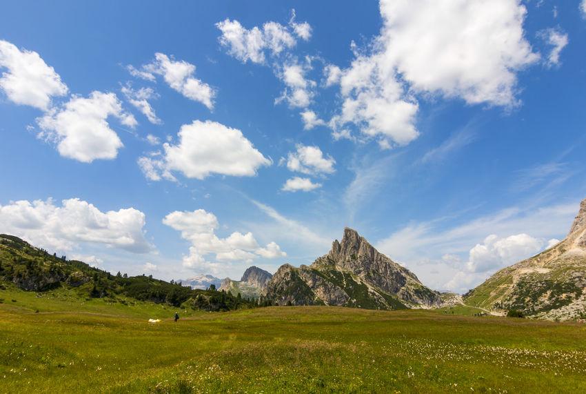 Dolomiti - cinque torri Dolomites Dolomites, Italy Dolomiti Italy Beauty In Nature Day Dolomiten Dolomiti Mountain Nature No People Outdoors Scenics Sky
