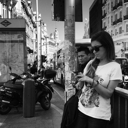 Streetphoto_bw Monochrome_life Movilgrafias Madrid