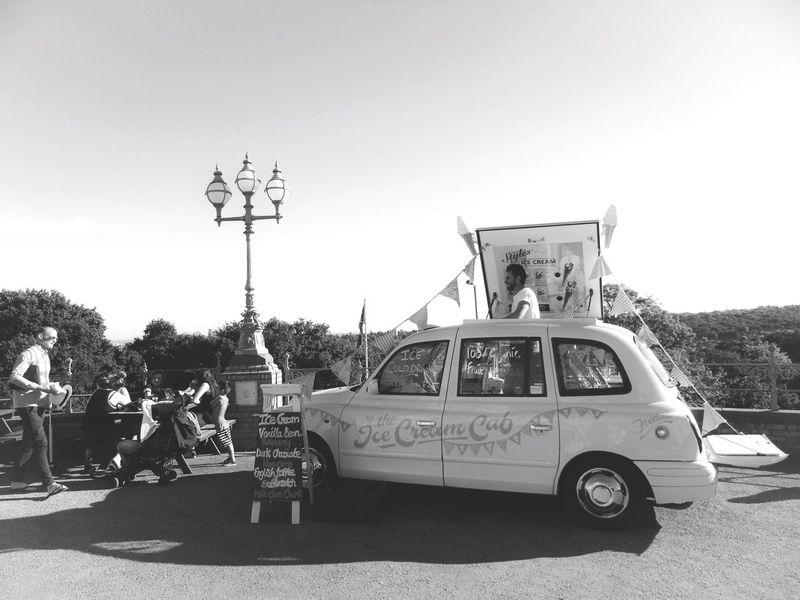 Ice creams... Ice Cream Palace Art LONDON❤ London Car Alexandra Palace Vehicle Outdoors People Clear Sky Stationary Sunny Photographer Photo Summer Londonlife Photooftheday Photoshoot