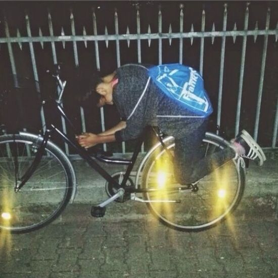 Throwback an einem geilen Abend und HappyBirthday an die geile Sau auf dem Fahrrad. Ich hab dich lieb Ranjid❤️ MissHer