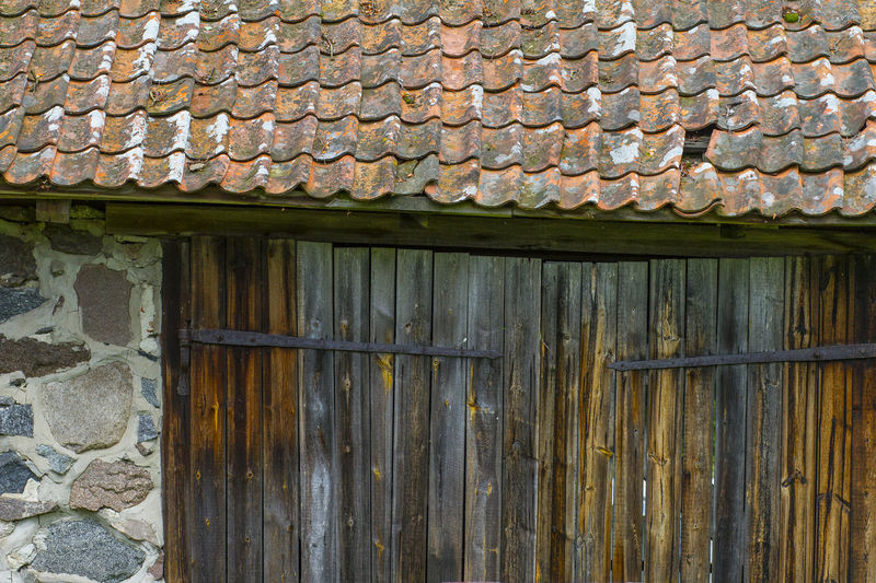 Agricultural Building Architecture Barn Building Exterior Built Structure Close-up Corrugated Iron Day No People Outdoors Wood - Material