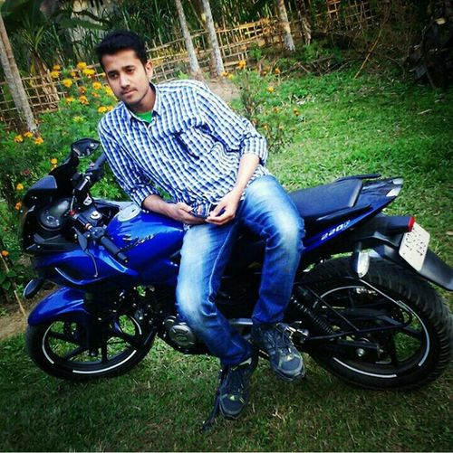 Me with my Bike... My_Heart Pulsar220