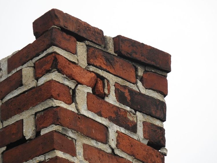 Architecture Brick Chimney Bricklayers Bricks Built Structure Chimney Chimney Bricks Chimney Stacks Chimney Tops Chimneys Dilapidated Chimney Falling Apart Falling Down In Need Of Repair Jobs Low Angle View Mason Masonry Old Chimney Run Down Unsafe