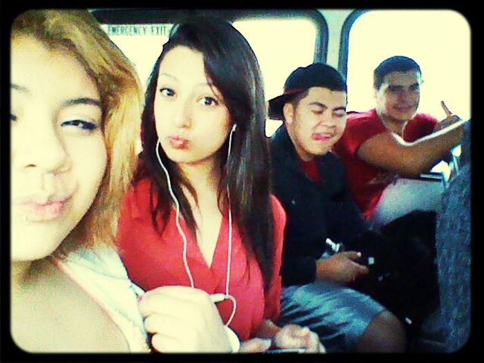 On Our Way To San Antonio