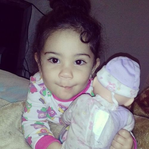 Crazy little bebe ??? Mommyslove Princess Azaeliabrielle Beautiful
