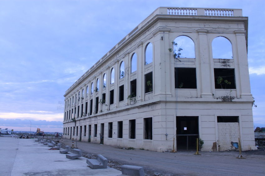 Architecture Blue Building Building Exterior Built Structure Carbon Street Cebu City City City Life Cloud Cloud - Sky Day Exterior Façade Hanging Out Historical Place Modern No People Old Building Exterior Outdoors Philippines Cotabato City Ruins Architecture Sky Sunny Travel Destinations