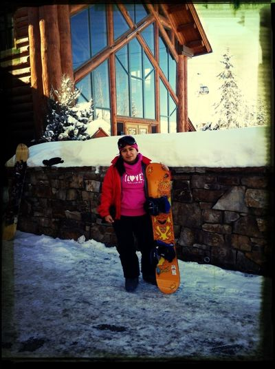 Día de snowboarding!