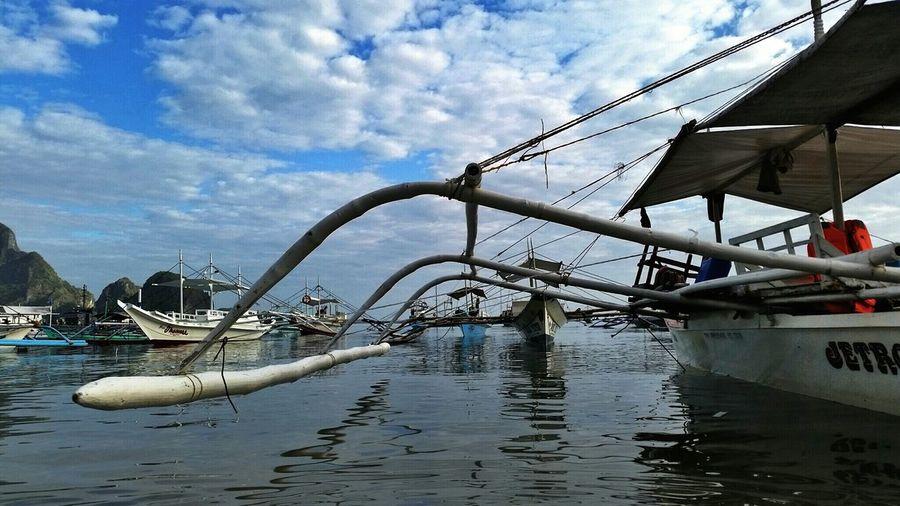 """Ang Katig"" Precision Smart Complexity Sky And Clouds Boat Ride Taking Photos Enjoying Life Eye4photography  Eyeem Philippines Enjoying Life EyeEm Best Shots"