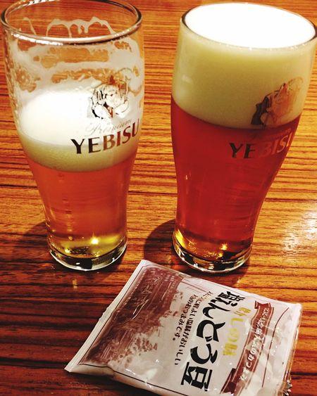 Japan Tokyo Beer Drink Drinking Ebisu Freshness Fresh Food And Drink Japanese Food Bevarage