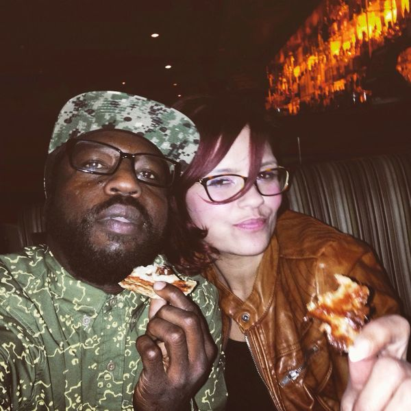 The pizza don't stop Night Out Cocktails Hanging Out Friends Out Of Control Supreme Namaste Phoenix, AZ StripClubsAndDollaBills Dope Local Art