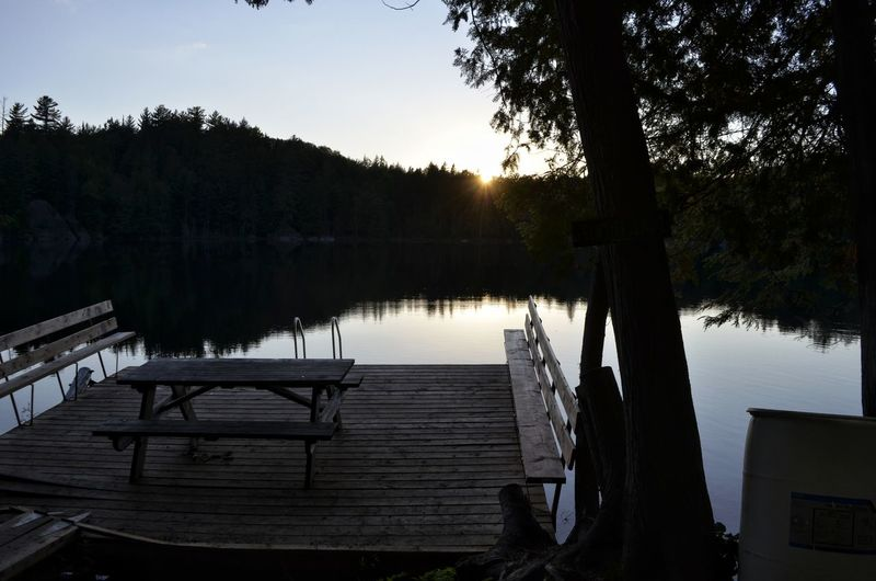 Tree Water Lake Reflection Sky Landscape Idyllic Scenics Tranquil Scene Calm Tranquility Majestic