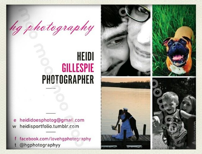check me out guys! heidisportfolio.tumblr.com cards compliments of moo.com Check This Out