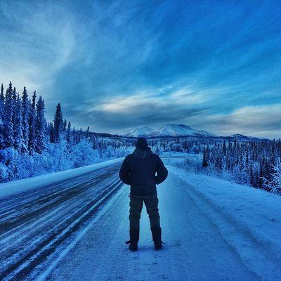 A picture says more than a 1000 words • TstNow ... • Tstcanada w @TravelYukon @explorecanada • Exploreyukon Explorecanada • SocialTravel Travel Canada Yukon Westfalia T2 Roadtrip •