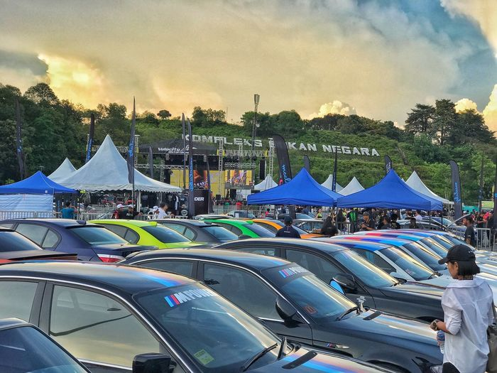VMS17 ( Velocity Motor Show 2017 ) Outdoors Sky Day Vacations Large Group Of People Tent Tree Nature People Vms17 Velocitymotorshow IPhoneography IPhone7Plus Snapseed Car CarShow