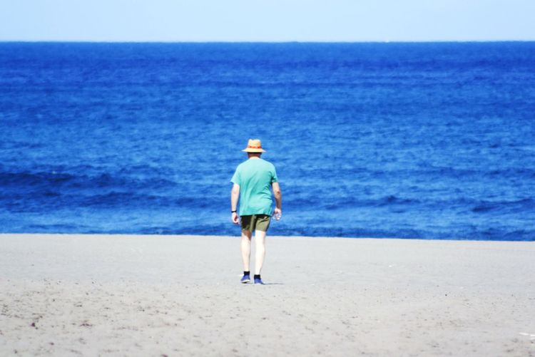 Life Is A Beach Sea Seascape Beachphotography EyeEm Gallery Canon Peoplephotography Walking Alone...