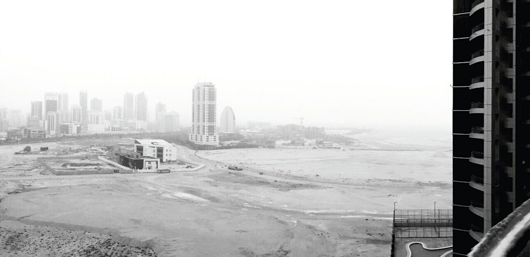 City Fog Architecture Cityscape Building Exterior Urban Skyline Travel Destinations Skyscraper Outdoors Day Sky No People Bahrain Travel Manama Manama Bahrain Bahrainlife Bnw_city Skyscrapers Bahrain Bnw_collection Bnwcity Black&white Black & White BW_photography Cityscape