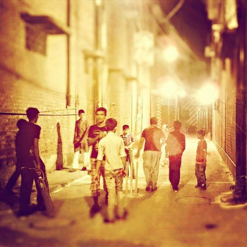 Street Cricket 12atNight Impressed Lights Lahore