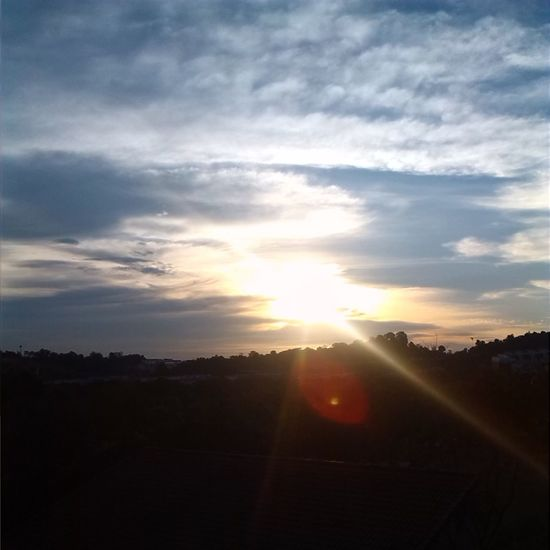 Cloudporn Sunset Beautiful Day Sunrays