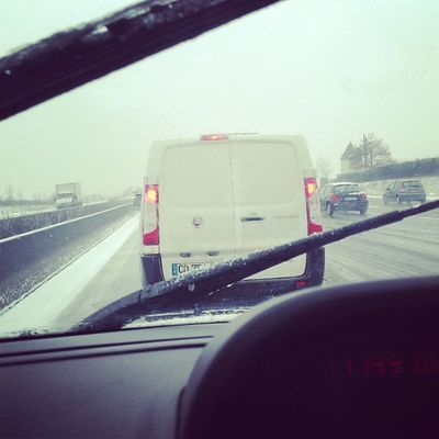 Mode Day Off Snow Cortège Camion Bouchons