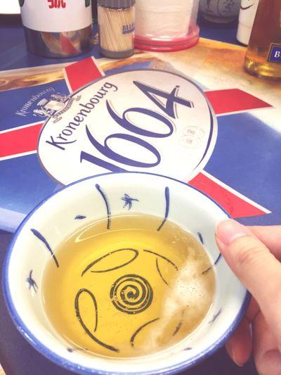 HongKong Beer 用碗喝ㄧ杯!