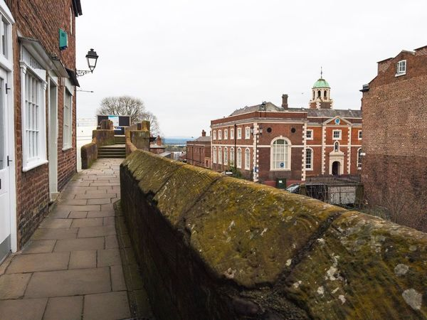 Chester Walls Architecture Building Exterior Built Structure Sky Outdoors Day Religion City No People