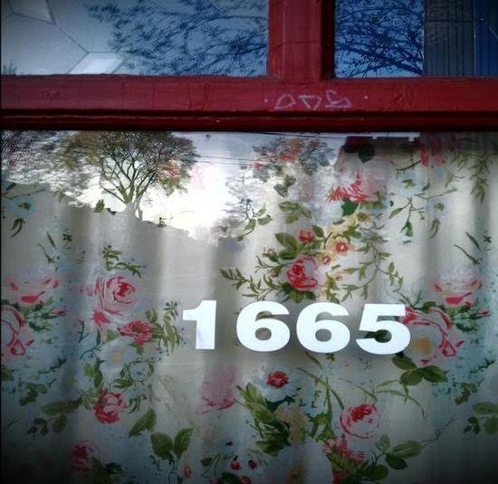 1665foryou# Earlymorningcapture# No People Numbersonwindow# Reflectiveshadows# Streetreflection# Treesflowersinreflection# Window