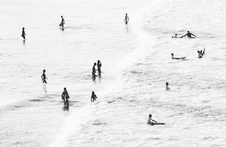 Showcase June White Wash Landscape Minimalmood Minimalobsession Minimalistic Minimalist Minimal Minimalism People Silhouette Swimming Water Waves Australia Beach Sea Ocean Olympusomd Olympusinspired Olympus Manly  Manly Beach Traveling Home For The Holidays The Great Outdoors - 2017 EyeEm Awards