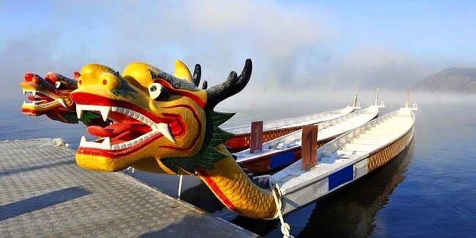 Dragon Slayer: EyeEm POPULAR/TRENDING 9/11/16 The Color Of Sport Discover  Interesting Photography Multi Colored EyeEm Best Shots Outdoors Outdoor Photography Outdoors Photograpghy  Views Scenics Mode Of Transport Water Culture Cultures Boat Boats Dragon Popular Popular Photo Popular Photos