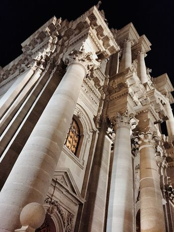 Architecture Architecture_collection Architectural Detail Night Lights Ortigia Sicily EyeEm Best Shots Great Atmosphere Getting Inspired Relaxing Ortigia By Night Duomo - Ortigia