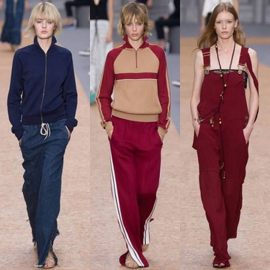 Fresh take on classic jumpsuits perfect for work and play. Chloe Pfw SS16