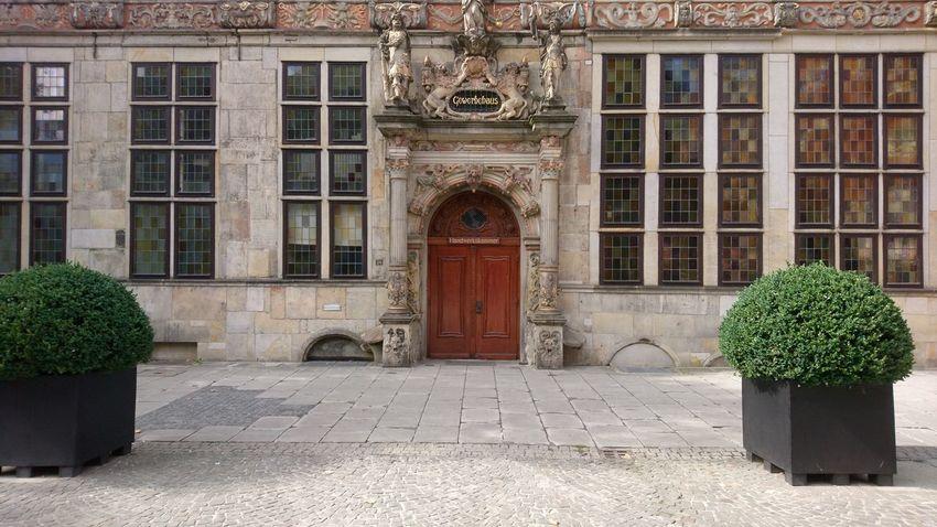 Gewerbehaus. Bremen Germany Hh Gewerbehaus Commerce Trade Craft Business History Hanseatic Hansestadt Architecture Old Urban Beauty Door Insignia City Luxury Architecture Built Structure Building Exterior