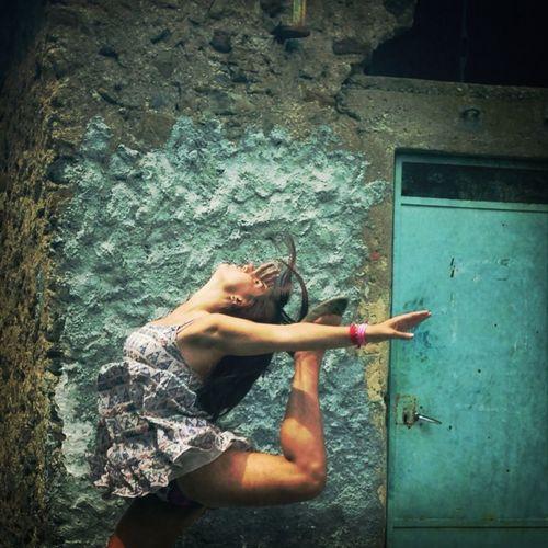 Rhythmic Gymnastics Girl Enjoying Life IPhoneography