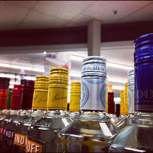 Pretty Colors Vodka Shots Want