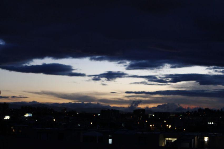 Illuminated Sunset Ethereal Silhouette Sky Cloud - Sky Storm Cloud Dramatic Sky Moody Sky Cumulonimbus Cloudscape
