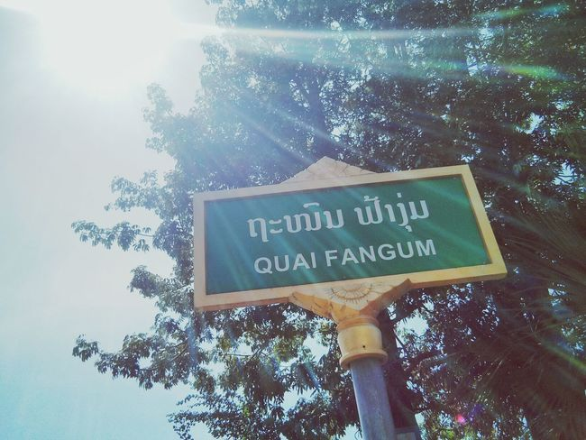 Laos Travel Road Taking Photos
