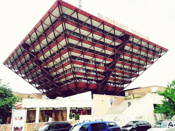 Building of The Slovak Radio Station The Architect - 2015 EyeEm Awards