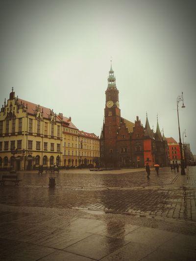 Beautiful Wroclaw Raining Day I Want SUMMER!
