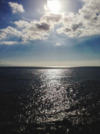 Sea Sky Water Horizon Horizon Over Water Cloud - Sky Scenics - Nature