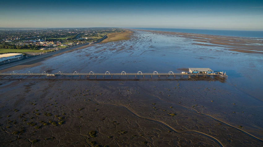 Southport Pier after the airshow Aerial View Beach Day Drone Photography Funfair Horizon Horizon Over Land Nature Nautical Vessel Outdoors Scenics Sea Seascape Seaside Sky Southport Pier After The Airshow Tide Out Tourism Tranquil Scene Tranquility Transportation Travel Travel Destinations Vacations Water