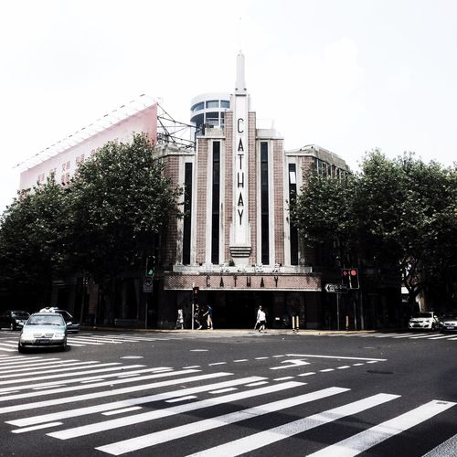 CATHAY THEATRE,Shanghai. Architecture City City Life History Iphoneonly CATHAY THEATRE Street Photography