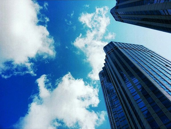 Gratte Ciel Sky Tower Sky