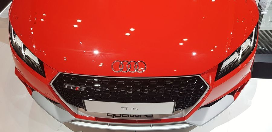 Red Close-up No People Indoors  Audi TT Audi Ttrs Audi Audi ♡ Vehicle Sports Car Quattro Ttrs